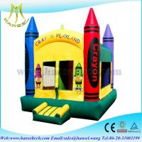 Wholesale Hansel top sale inflatable funny kids toys air castle rentals from china suppliers
