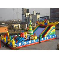 China 20x10m outdoor kids giant inflatable amusement park made of 1st class pvc tarpaulin from China inflatable manufacturer on sale