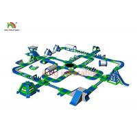 Giant Inflatable Floating Water Park Equipment For Beach Amusement