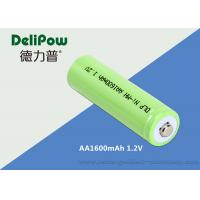 Wholesale AA NIMH Rechargeable Battery 1600mAh Environmentally Friendly from china suppliers