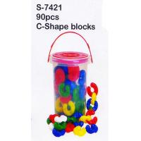 Wholesale Toy, Educatinal Toy, Block Toy, Teaching Aid, Smart Toy, C-Shape Blocks (S-7421) from china suppliers