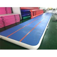 Wholesale Large Inflatable Air Track Training Mat Jumping Mat For Gymnastics Waterproof from china suppliers
