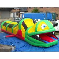 China Inflatable Tunnel Maze , Snake Train Tunnel For School Amusement Equipment on sale