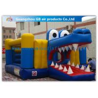 Wholesale 20 Ft Inflatable Crocodile Bouncer , Crocodile Inflatable Jumper Pvc Tarpaulin from china suppliers