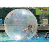 Quality Transparent PVC TPU Walking On Water Bubble Ball Logo Printing Custom Size for sale