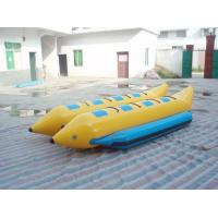 Wholesale Double Tubes 8 Person Inflatable Fishing Boat , Inflatable Water Banana Boat from china suppliers
