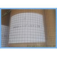 Wholesale Square Welded Metal Wire Mesh , Heavy Duty Stainless Steel Screen Anti Corrosion from china suppliers