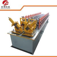 Wholesale Double Galvanized C Stud Roll Forming Machine , Light Metal Z Purlin Roll Forming Machine from china suppliers