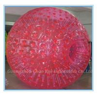 Wholesale 2.8m Red Inflatable Zorb Ball Hot Air Sealed For Ramp / Grass Land / Hills(CY-M2710) from china suppliers