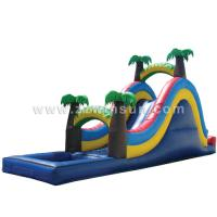 China lovely painting water park equipments,big water slides for sale on sale