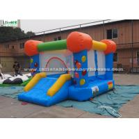 Wholesale Blue Waterproof Indoor Mini Inflatable Jumping Castles with Slide for Kids from china suppliers