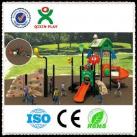 China Outdoor Playground Slide Used Playground Slides for Sale QX-015A on sale