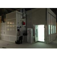 Wholesale Industrial Semi Downdraft Spray Booth 10M High Efficiency Mini Bus Paint Booth from china suppliers