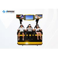 Wholesale 3 Seats 9D VR Cinema Simulator Dynamic Desk With Deepoon E3 Glasses from china suppliers