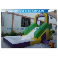 China Funny Game Small Inflatable Water Slide / Kids Inflatable Garden Water Slides on sale