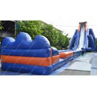Waterproof Large Inflatable Water Slides Pvc Outdoor WIth 30m x 10m