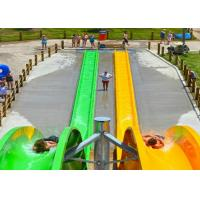 Wholesale 6 Guests Per Time Colorful Custom Fiberglass Water Slides from china suppliers