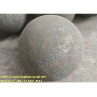 Wholesale B2 B3 B6 60Mn Forged steel grinding media balls for mining ball mill from china suppliers