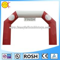 Wholesale Red / White Inflatable Halloween Arch 0.6mm PVC Tarpaulin Well Tailed from china suppliers