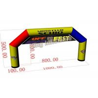 Wholesale 10m*5m Mix Color Large PVC Custom Inflatable Arch / Inflatable Advertising from china suppliers
