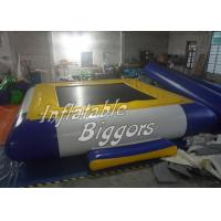 Water Amusement Park Inflatable Water Game Promotion , Blow Up Inflatable Toys