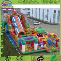 Popular Inflatable Toys Castle Slide Fun City for Amusement Park