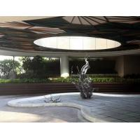 Wholesale Contemporary Famous Abstract Sculptures Outdoor Large Metal Garden Ornaments, modern art from china suppliers