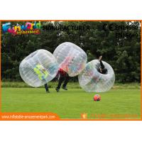 Wholesale TPU / PVC Inflatable Zorb Ball / Adult Body Bumper Ball For Entertainment from china suppliers
