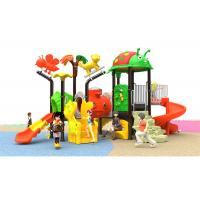 Huge Customized Kids Outdoor Plastic Slide Reliable Playground With 2 Floor