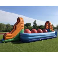 Wholesale Outdoor Party Game Wipeout Inflatable Obstacle Course Big Balls Combo Bouncer from china suppliers