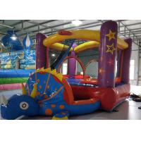 China PVC0.55mm Small Indoor Inflatable Bouncy Castles 3.3X2.2X1.8m Customized Color on sale