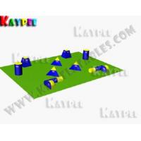 Wholesale Team Practice Package B,Inflatable paintball Bunker,paintball filed,arena KPB027 from china suppliers