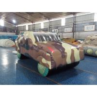 Wholesale PVC Tarpaulin Inflatable Sports Games Inflatable Humvee for Outdoor Paintball Field from china suppliers