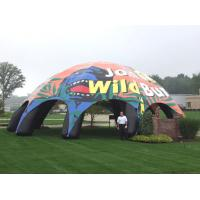 Wholesale 12m dia pvc tarpaulin inflatable dome tent from china suppliers