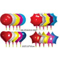 Buy cheap Inflatable Toys Aluminium Foil Pole Color Ballon Supplier from wholesalers