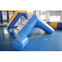 Wholesale 0.9mm Blue Color PVC Tarpaulin Swimming Pool Small Water Slide from china suppliers