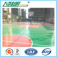 Quality Waterproof Acrylic Athletic Surfaces Custom Outside Gym Basketball Courts Tiles for sale