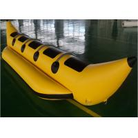 Wholesale Waterproof 0.9mm PVC Inflatable Fly Fish Banana Boat For Water Games from china suppliers