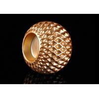 Wholesale Honeycomb Design Electroplating Effect Tealight Candle Holder Made By Ceramic from china suppliers