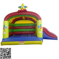 Wholesale Colorful Mini Pvc Inflatable Jumping Bouncer For Kindergarten Entertainment from china suppliers