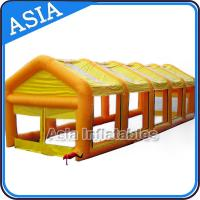 Wholesale Dismantle PVC Large Tent Inflatable Paintball Field Easy To Store from china suppliers