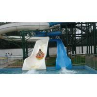 Wholesale Outdoor Open Spiral Slide Water Playground Equipment , Barrel Slide For Water Park from china suppliers