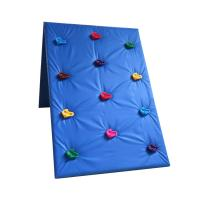 Quality Plastic Kids Outdoor Climbing Wall Stones Customized Size For Park / School for sale