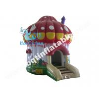 Wholesale Inflatable mushroom bouncer,inflatable standard bouncer,inflatable digital printed jumper from china suppliers
