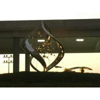 Wholesale Custom Color Modern Stainless Steel Sculpture As Landscaping Garden Decoration from china suppliers