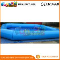 China Circle / Square Large Adult Inflatable Swimming Pool Commercial Inflatable Water Pool on sale
