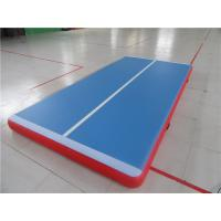Wholesale 3m Inflatable Jumping Mat With Velcro System , Gymnastics Air Track For Home from china suppliers