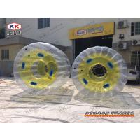 Wholesale Rolling Inflatable Water Ball , Transparent Water Zorb Ball For Running from china suppliers