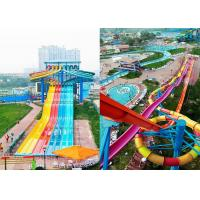 Wholesale Side - By - Side Speed Anti - Fade Adult Water Slide from china suppliers
