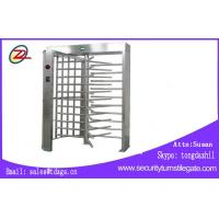 China Remote Control Full Height Turnstile Single Lane Type CE Approved on sale